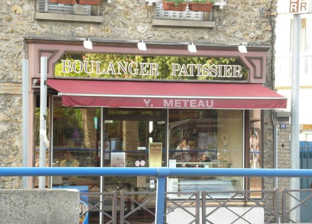 La boulangerie du quartier de l'Ermitage, au Pecq
