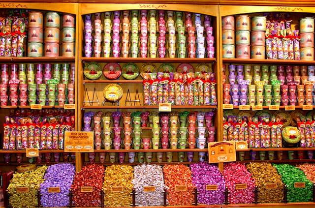 La boutique aux bonbons