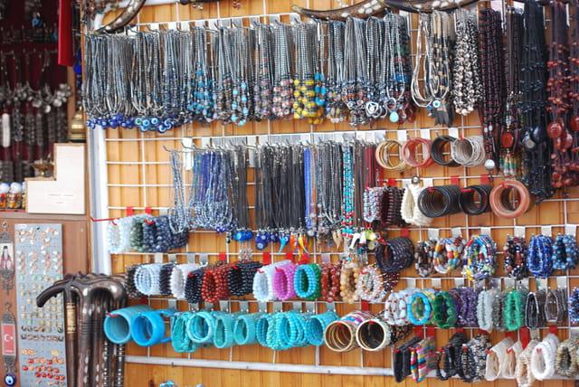 La boutique de bijoux turcs