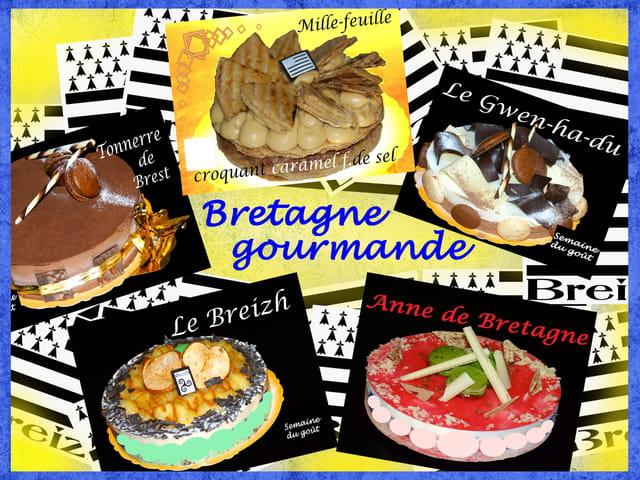 La Bretagne gourmande vous salut.............