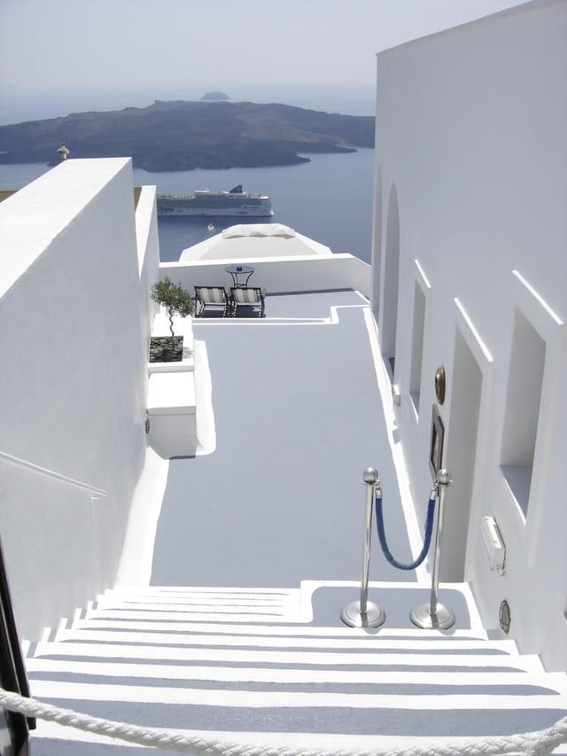 La Caldera de Santorin