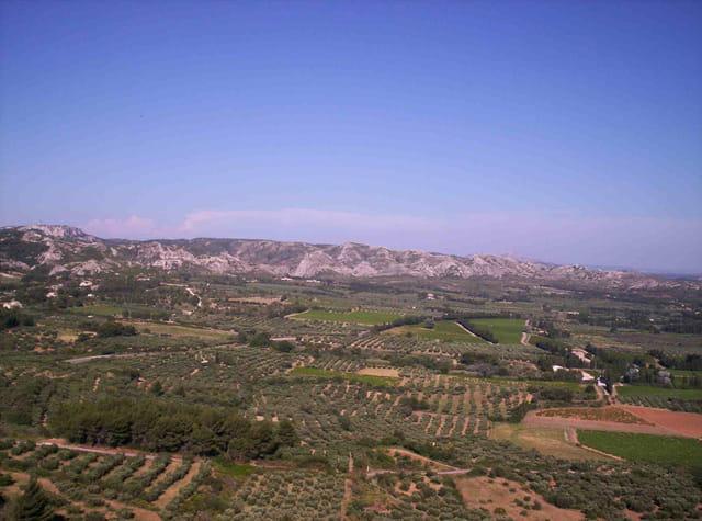 La campagne des Baux de Provence
