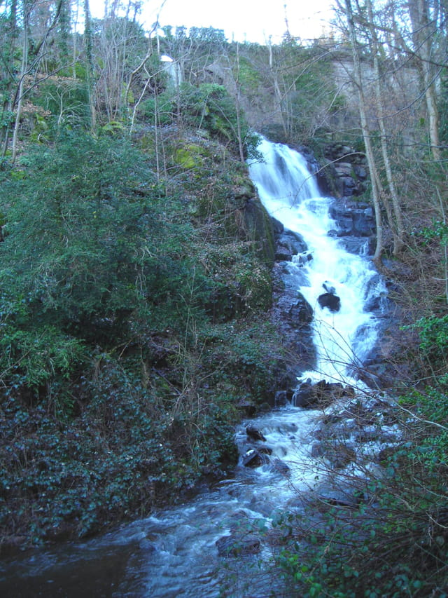 La cascade des gorges de Narveau