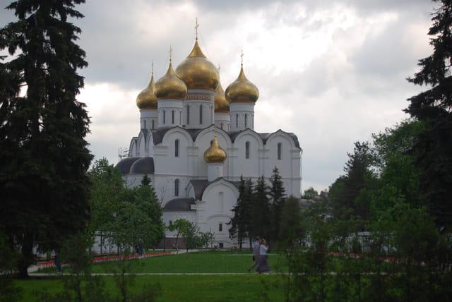 la cathédrale de la Dormition à Yaroslavl