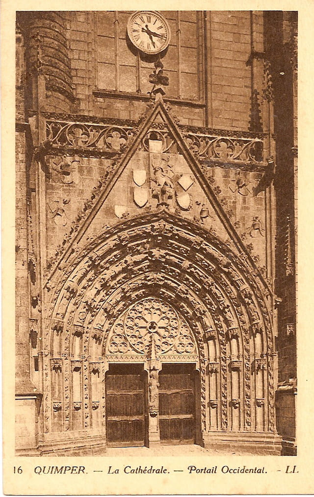 La Cathédrale, portail occidental