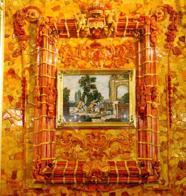 La chambre d 39 ambre de la baltique par genevieve lapoux sur l 39 internaute - La chambre d ambre photos ...