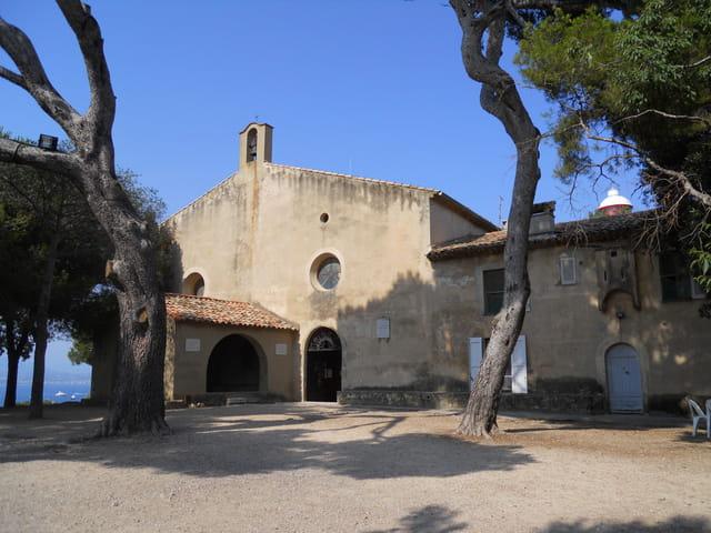 La chapelle de la garoupe