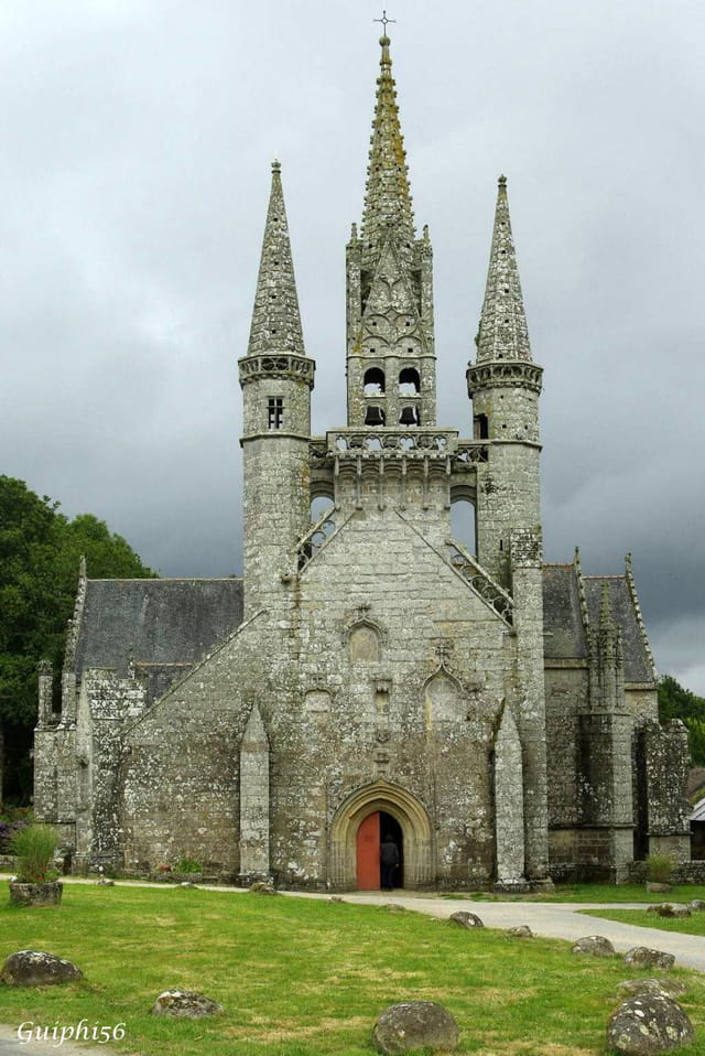 la chapelle de Saint-Fiacre (56) - 2