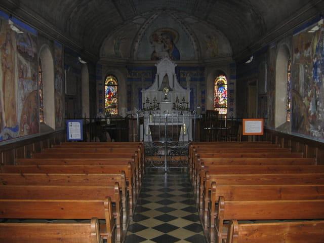 La chapelle Notre-Dame de moyen-pont