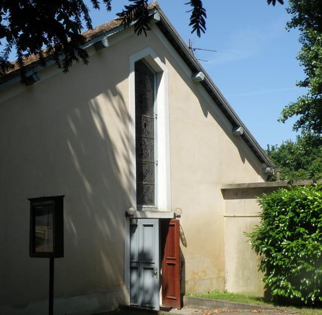 La chapelle Ste Amélie de Grandchamp, au Pecq