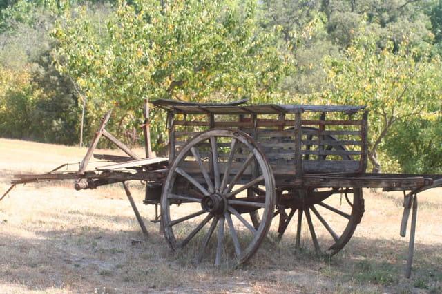 La charrette abandonnée
