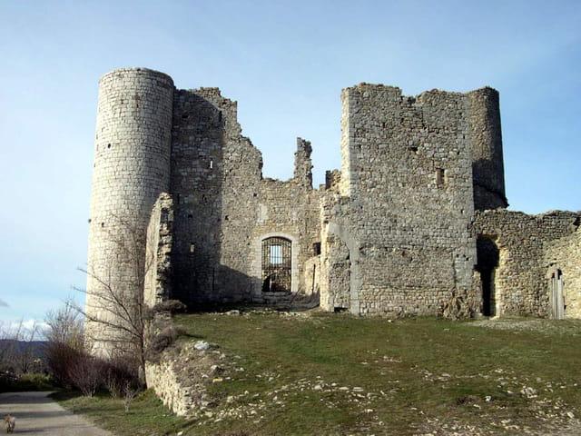 La chateau de Bargème