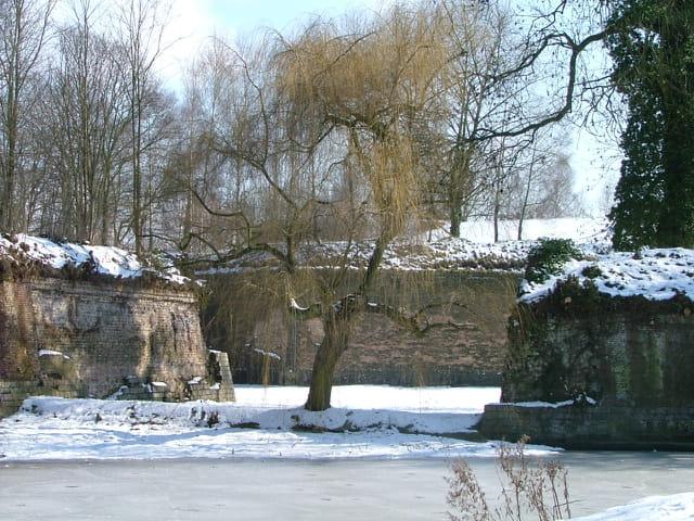 La citadelle sous la neige