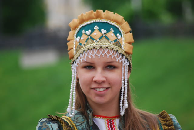 la coiffe traditionnelle Russe
