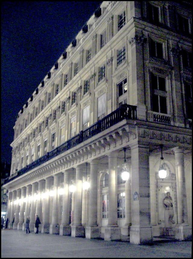 La Comédie-Française, la nuit