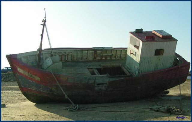 La coque du bateau