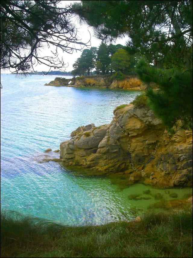 La côte bretonne a parfois un côté méridional