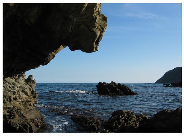 La côte rocheuse