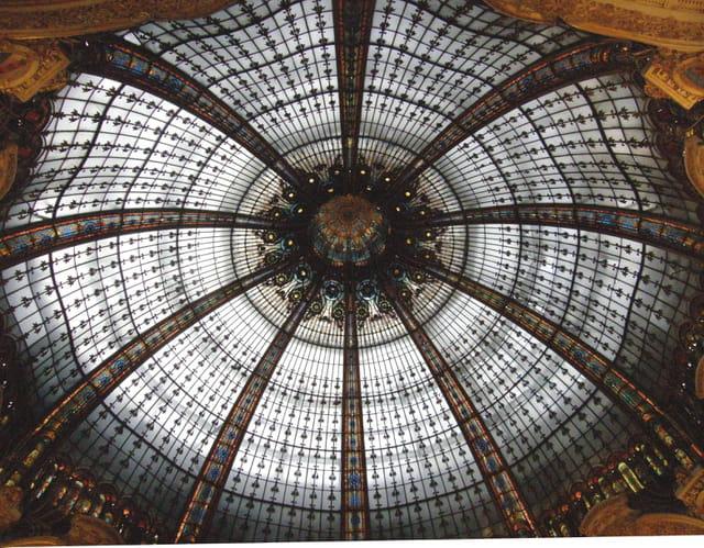 La coupole des Galeries Lafayette