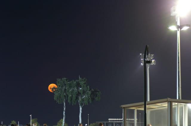 La course de la lune