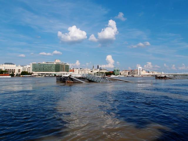 la crue du Danube