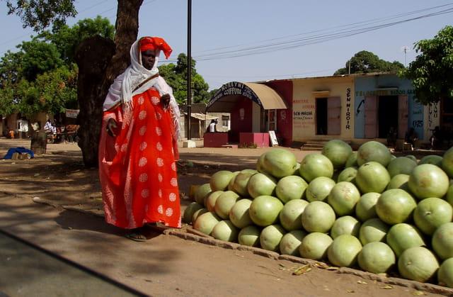 La dame aux pastèques
