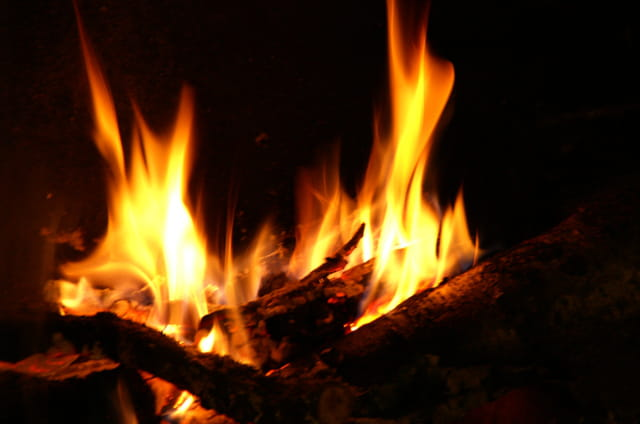 La danse du feu...
