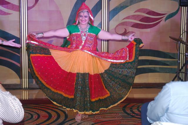 la danseuse Indienne