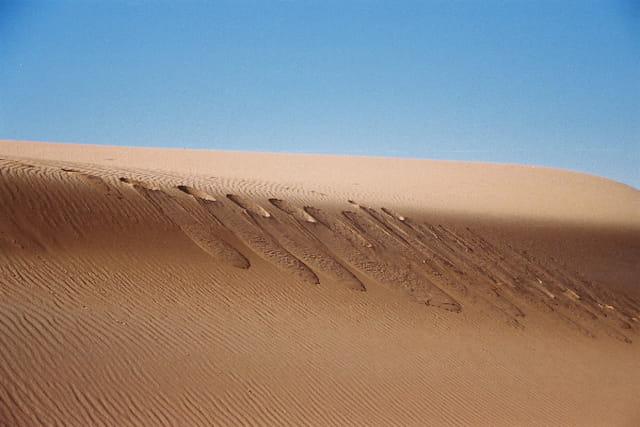 La dune avance