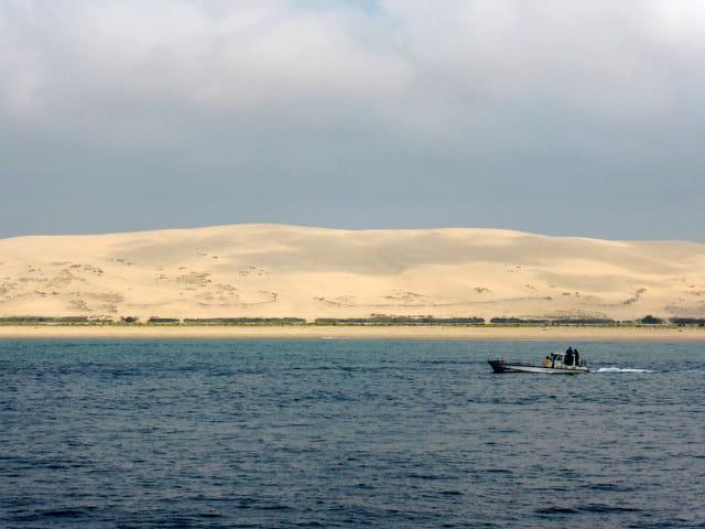 la dune du Pyla et le banc d'Arguin
