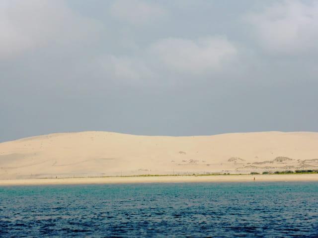 la dune du Pyla vue du bassin