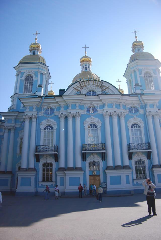 la façade de l'église de Saint Nicolas des Marins