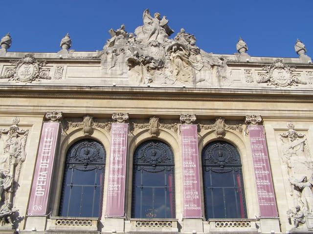 La façade de l'opéra de Lille+