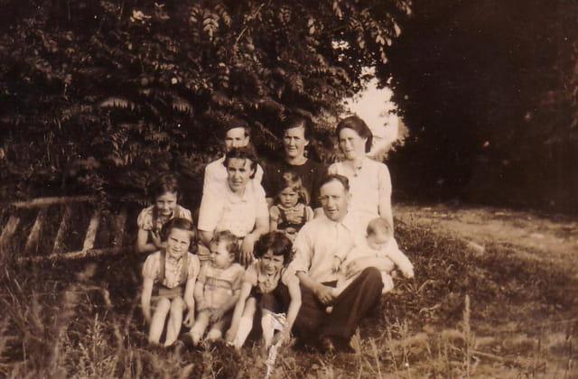 La Famille avant la moisson