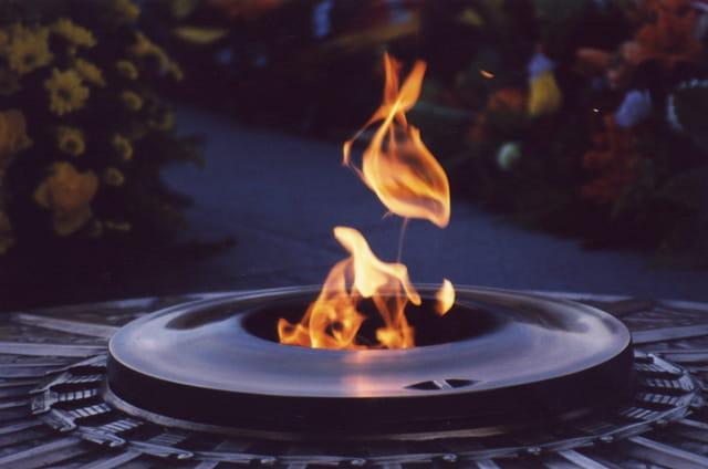 La flamme de l'inconnu
