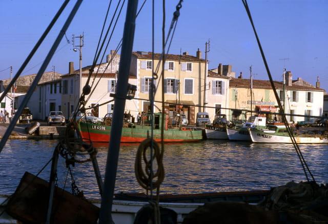La flotte, le port