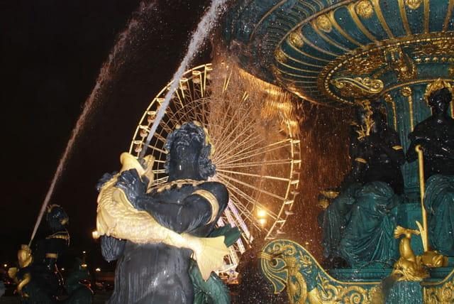 La fontaine auréolée