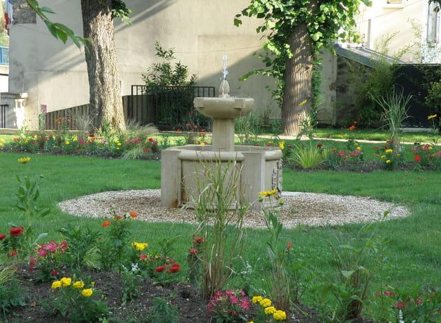 La fontaine d'Aranjuez, au Pecq