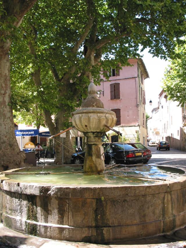 La fontaine de Flayosc