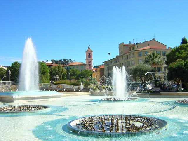 La fontaine de nice