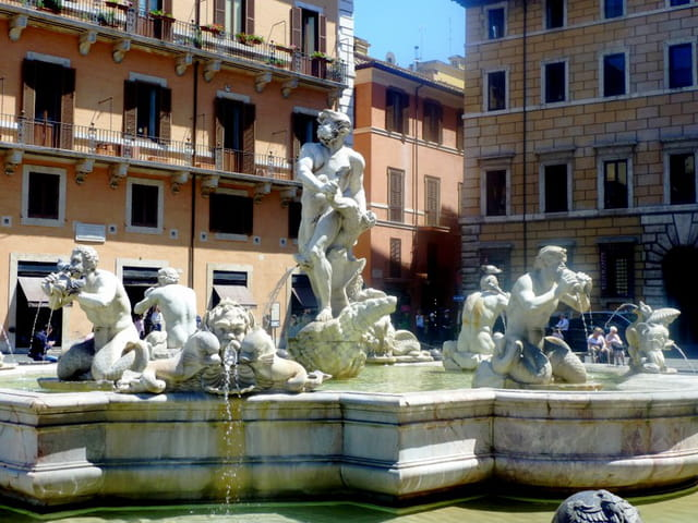 la fontaine du Maure Piazza Navona