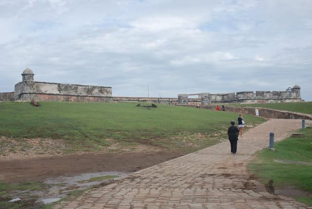 la forteresse El Morro ou San Pedro de la Roca