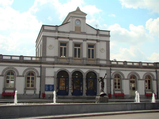La gare de Renaix (Ronse).