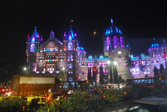 la gare Victoria de Bombay