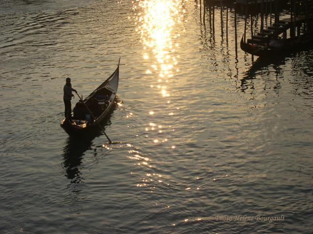 La gondole à Venise