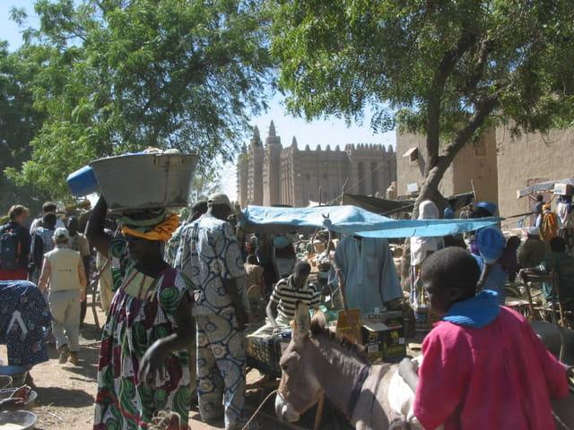 La grande mosquée de djéné