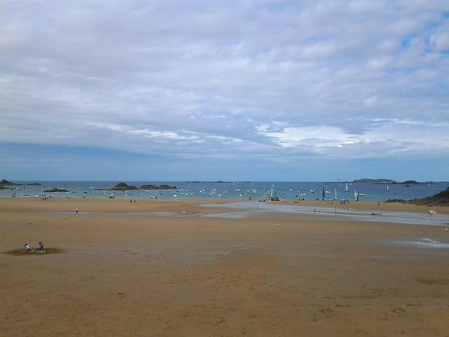 La Grande plage (Marée haute) 2