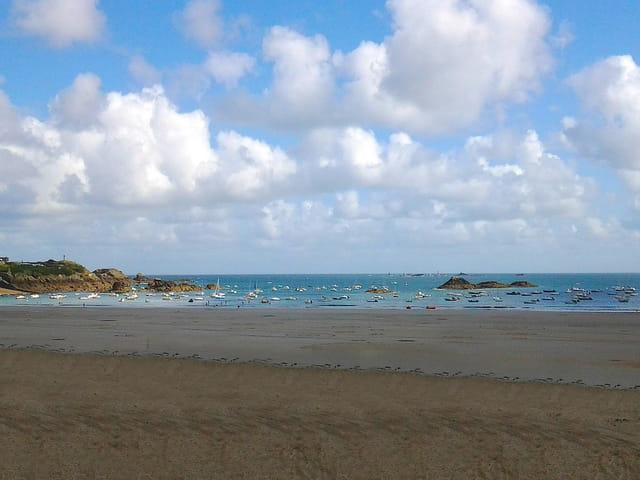 La Grande plage (Marée haute) 9