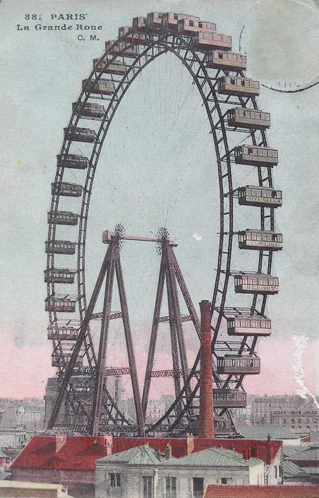 La grande roue de 1900
