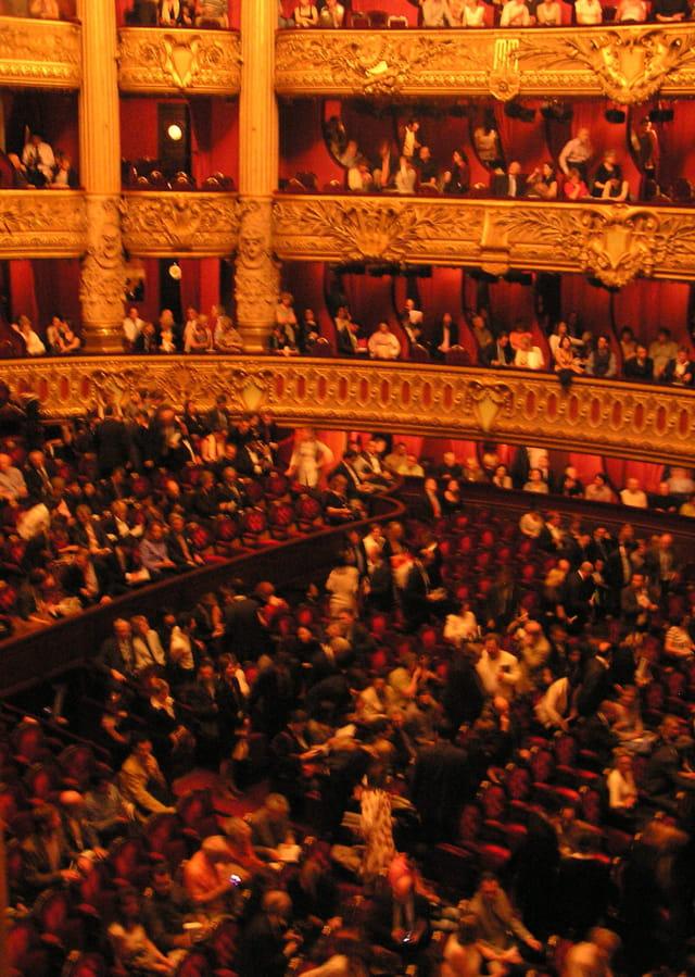 La grande salle de l'Opéra